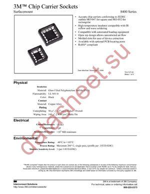 8420-21B1-RK-TR datasheet скачать даташит