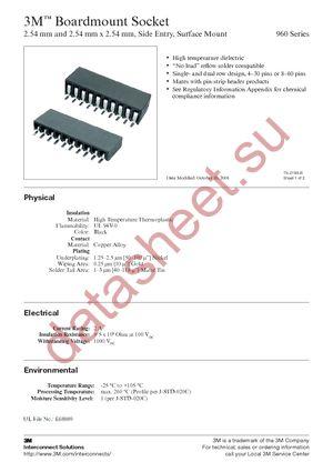 960238-8100-AR-TP datasheet скачать даташит