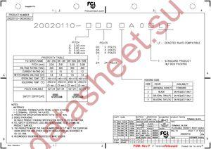 20020110-D081A01LF datasheet скачать даташит