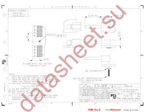 70419-001LF datasheet скачать даташит