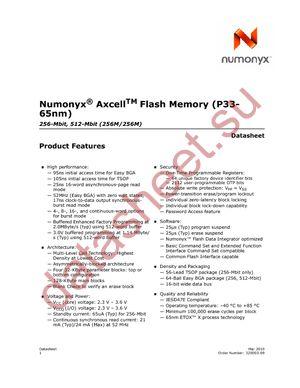 PC28F256P33TFE datasheet скачать даташит