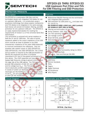STF203-22.TCT datasheet скачать даташит