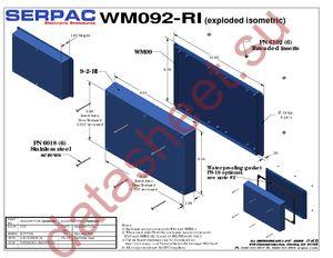 WM092RI,AL datasheet скачать даташит