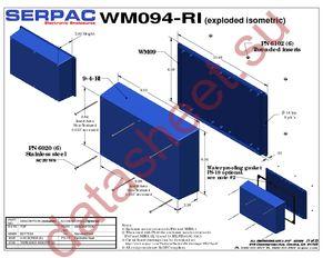 WM094RI,BK datasheet скачать даташит