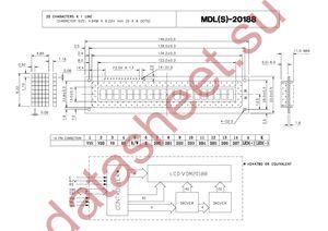 MDLS-20188-C-LV-G datasheet скачать даташит