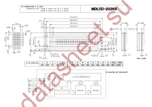 MDLS-20265-SS-LV-G-LED-04-G datasheet скачать даташит