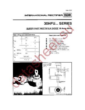 30HFU-100 datasheet скачать даташит