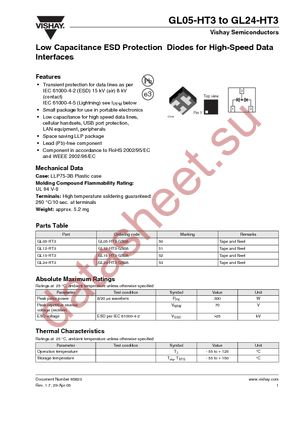 GL24-HT3-GS08 datasheet скачать даташит